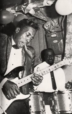 "chrisgoesrock:  ""Buddy Guy Photo 1965  """