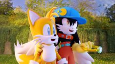 Tails and Klonoa by vicenticoTD.deviantart.com on @DeviantArt