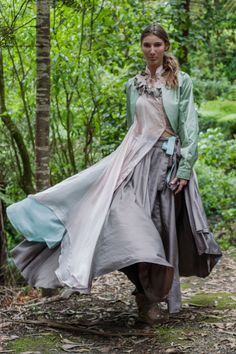 Ashley Miella 's graduate collection took my breath away at first glance: I saw in my mind's eye three hooded Wiccan witches who don'. Wiccan Witch, My Portfolio, Collection, Designers, Gardening, Dresses, Fashion, Gowns, Moda