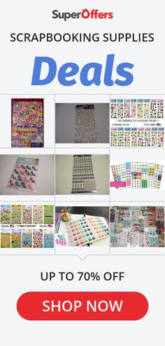 Blowout Deals On Scrapbooking Supplies Crafts For Less, Crafts To Make, Travel Scrapbook, Scrapbook Cards, Scrapbook Supplies, Craft Supplies, Junk Journal, Bullet Journal, Office Programs