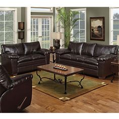 Promenade 3 Pcs Casual Leather Reclining Sofa Set Coaster Co Sets Pinterest And