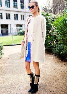 Poppy Delevingne #streetstyle #fashion