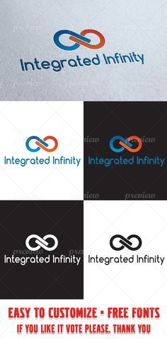 'The Pack Includes:' - Ai, EPS and CDR files - Ai - - Ai, EPS - ver 10 - All files are vectors - Fully editable and resizable - CMYK - Editable text Only Free fonts used. Logo Inspiration, Infinite Logo, Dp Logo, Wedding Logos, Wedding Card, Anniversary Logo, Name Logo, Symbol Logo, Personal Branding