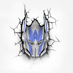 Transformers 3D Wall Nightlight - Optimus Prime