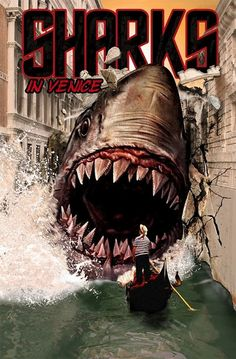 martin klasch: Movie Posters: Sharks In Venice