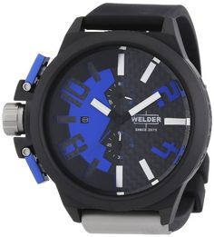 Welder Unisex 2503 K35 Oversize Chronograph Watch ** Read more reviews of the product by visiting the link on the image.