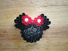 Minnie Magnet Perler Beads for Fish Extender Cruise exchange