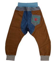 Pete Repeat Harem Pant - Big, Oishi-m Clothing for Kids, Winter 2018, www.oishi-m.com