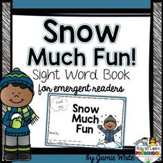 This Emergent Reader Sight Word book includes a 12-page student copy (choose either full-color or blackline master).  There are 10 pages of text, with a sight word practice page and an additional page for the students to collect autographs from their family and friends as they read the book to them.Instructional ideas for teaching Concept of Word, and a parent information sheet are attached.