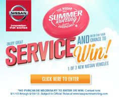 Keep Summer Rolling with Harte Nissan