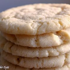 Chewy Sugar Cookies (America's Test Kitchen) ...seriously the best sugar cookie ever!
