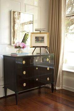 White Sideboard Styling Lounge