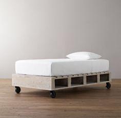 Warehouse Pallet Bed | All Beds | Restoration Hardware Baby & Child