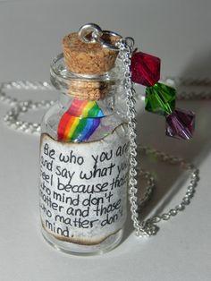 Pride/LGBT Rainbow Necklace - not a DIY