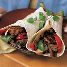 Low Fat Chicken/Beef Fajitas Receipes