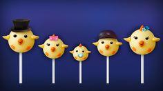 The Finger Family Chick Cake Pop Family Nursery Rhyme | Easter Finger Family Songs
