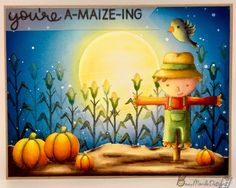 Lawn Fawn - Happy Harvest _ spectacular card by Payel at Beau Monde Designs