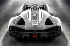 Formula E SRT05e render rear view