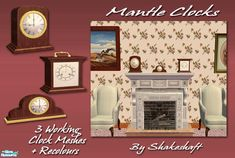 shakeshaft's Mantle Clocks