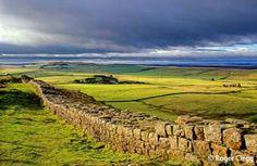 Hadrian's Wall, Hexham, Northumberland, England