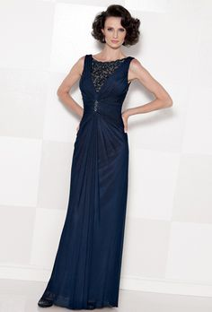 Sophisticated, Navy Blue Mother of the Bride Dresses | Team Wedding Blog