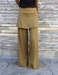 Gaia Conceptions - Simplicity Mini Skirted Pants, $110.00 (http://www.gaiaconceptions.com/simplicity-mini-skirted-pants/)