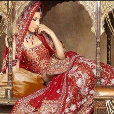 Cultural wedding dress.