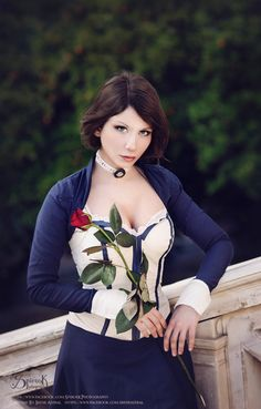 Elizabeth From Bioshock Infinite Cosplayed by Irene Astral Photographed by… Amazing Cosplay, Best Cosplay, Cool Costumes, Cosplay Costumes, Elizabeth Cosplay, Avatar Cosplay, Bioshock Series, Bioshock Cosplay, Bioshock Infinite