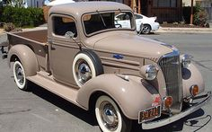 1937 Chevy 1/2-Ton Pickup. Maintenance of old vehicles: the material for new cogs/casters/gears/pads could be cast polyamide which I (Cast polyamide) can produce