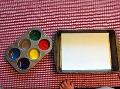 Play Create Explore: Marble Painting