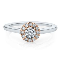 1/2 ct. tw. Diamond Solitaire Engagement Ring in 14K Gold