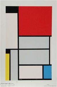 Tableau no. 1 by Piet Mondrian