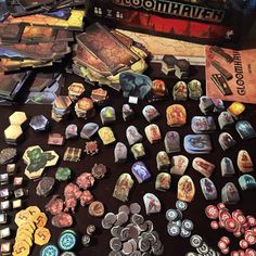 Wow - the board game Gloomhaven Board Game Design, Tabletop Games, Innovation Design, Board Games, Geek Stuff, Gaming, Instagram Posts, Artwork, Painting