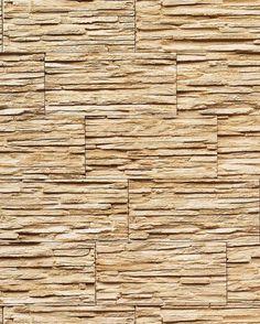 EDEM 1003-31 Carta da parati spazzolabile effetto muro di pietra naturale rilievo ardesia lavagna beige sabbia marrone: Amazon.it: Casa e cucina