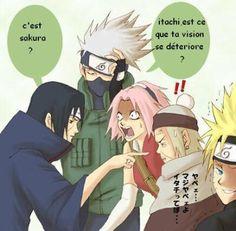 Naruto et Sakura porno comique