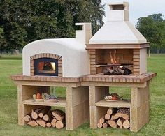 Le plus récent Photos Barbacoa rusticas Stratégies Outdoor Fire, Outdoor Dining, Outdoor Decor, Rustic Kitchen Design, Outdoor Kitchen Design, Outdoor Kitchens, Parrilla Exterior, Outdoor Island, Brick Bbq