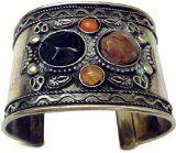 Oxide Cuff Bangle Bracelet