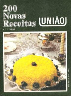 Receitas 200 4 volume by emmy. Sweets Recipes, Just Desserts, My Recipes, Fes, Jam Cookies, Foods With Gluten, Healthy Options, Make It Simple, Food And Drink