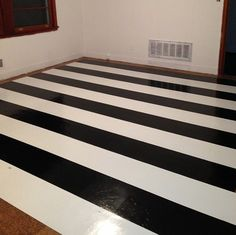 Peel And Stick Laminate Flooring black and white checkered peel and stick garage floor tile Black And White Stripped Flooring Sing Laminate Peel Stick Tile Via The Avarice Can
