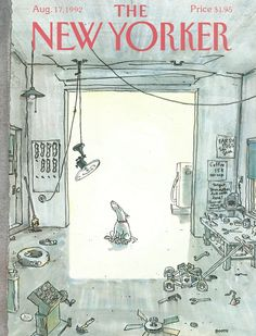 The New Yorker - Monday, August 17, 1992 - Issue # 3522 - Vol. 68 - N° 26 - Cover by : George Booth