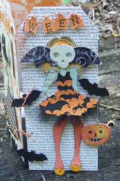Prima Mixed Media Doll Stamp