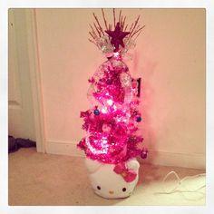Hello Kitty Christmas Tree.