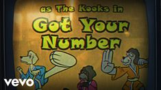 The Kooks - Got Your Number (Animation) Music Songs, New Music, The Kooks, I Got You, Animated Gif, Animation, Number, Make It Yourself, Anime