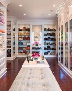 FOLLOW REFINED REVERIE FOR MORE UP TO DATE DECOR IDEAS and TIPS Closets, chic, sexy, modern, masculine, feminine, glam.
