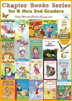20 Favorite Chapter Book Series for K-2nd Grade (from Mom to 2 Posh Lil Divas)