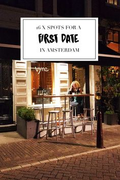 """Having a first date? So exciting. These spots listed on http://www.yourlittleblackbook.me/first-date-in-amsterdam/?utm_content=bufferfcb99&utm_medium=social&utm_source=twitter.com&utm_campaign=buffer are the perfect place for a first date in Amsterdam! Planning a trip to Amsterdam? Check http://www.yourlittleblackbook.me/?utm_content=bufferfa5a4&utm_medium=social&utm_source=twitter.com&utm_campaign=buffer & download """"The Amsterdam City Guide app"""" for Android & iOs with over 550 hotspots…"""