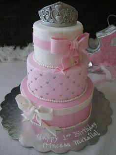 pink princess cake