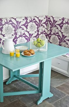 Nice The Dinner Party Is A Versatile Folding Table That Folds Down To Just 7  Inches As A Stylish Sofa Table Or Entryway Accessory And Comfortably Seats  6 When ... Nice Ideas