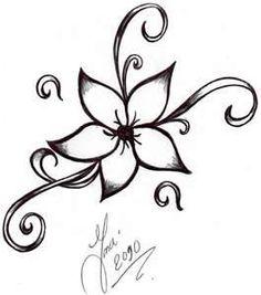 simple henna flower designs | smaller henna flower design