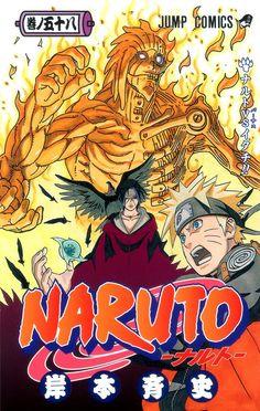 Buy Naruto, Vol. 58 by Masashi Kishimoto at Mighty Ape NZ. The world's most popular ninja comic! Reads R to L (Japanese Style) for Teen audiences. Naruto is a young shinobi with an incorrigible knack for mi. Art Naruto, Naruto Vs, Naruto Anime, Me Anime, Naruto Uzumaki, Manga Anime, Gaara, Itachi, Boruto